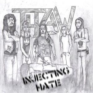 Thraw - Injecting Hate cover art