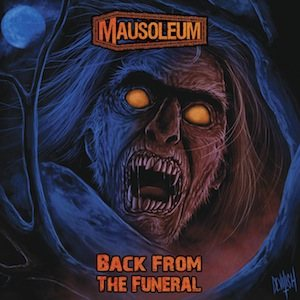 Mausoleum - Back from the Funeral cover art