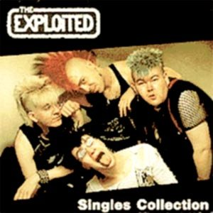 The Exploited - Singles Collection cover art