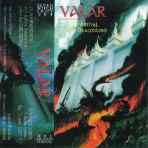 Valar - The Arrival of the Dragonlord cover art