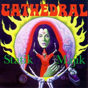 Cathedral - Statik Majik cover art
