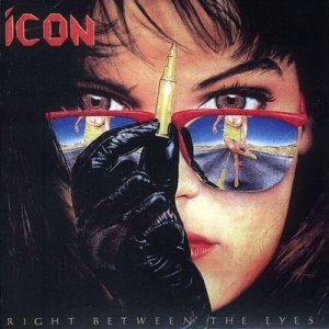 Icon - Right Between the Eyes cover art