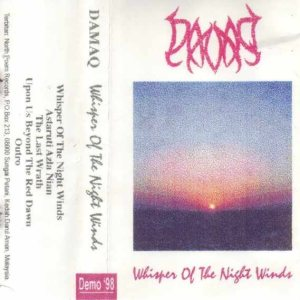 Damaq - Whisper of the Night Winds cover art