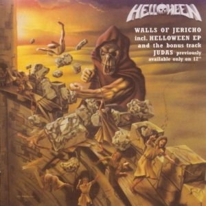 Helloween - Walls of Jericho cover art