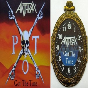 Anthrax - Got the Time cover art