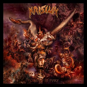 Krisiun - Forged in Fury cover art