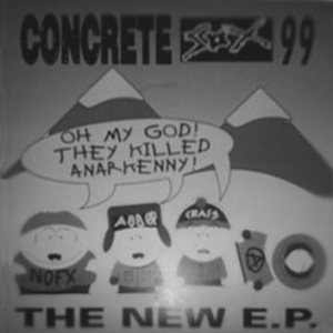 Concrete Sox - The New EP cover art