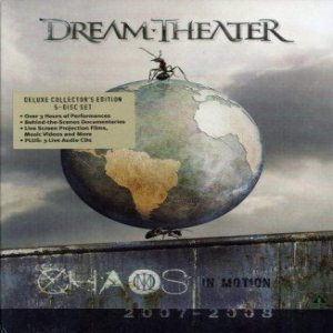 Dream Theater - Chaos in Motion 2007/2008 cover art