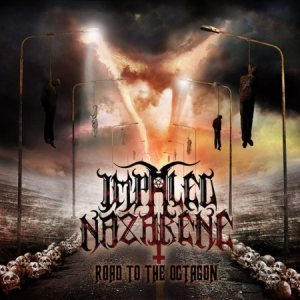 Impaled Nazarene - Road to the Octagon cover art