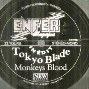 Tokyo Blade - Monkey's Blood cover art