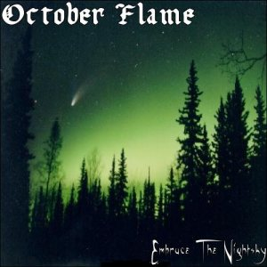 October Flame - Embrace the Nightsky cover art