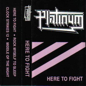 Platinum - Here to Fight cover art