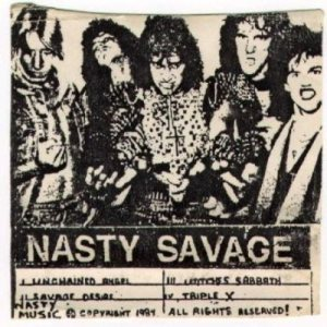Nasty Savage - Wage of Mayhem cover art