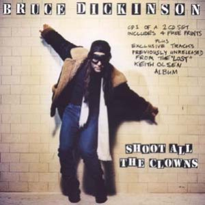 Bruce Dickinson - Shoot All the Clowns cover art