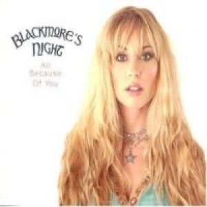 Blackmore's Night - All Because of You cover art