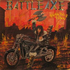 Battleaxe - Burn This Town cover art