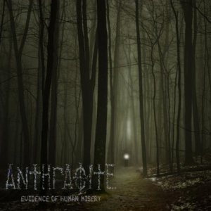 Anthracite - Evidence of Human Misery cover art