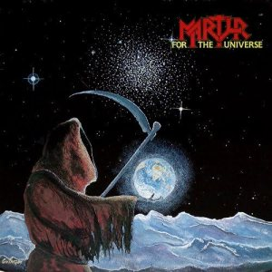 Martyr - For the Universe cover art