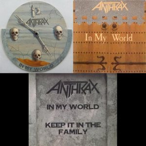 Anthrax - In My World cover art