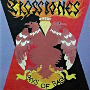 Crossbones - Days of Rage cover art