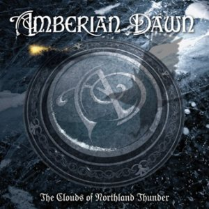 Amberian Dawn - The clouds of Northland Thunder cover art