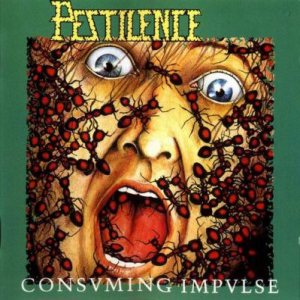 Pestilence - Consuming Impulse cover art