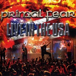 Primal Fear - Live in the USA cover art