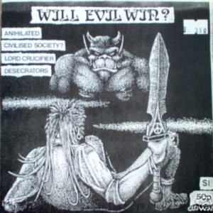 Anihilated - Will Evil Win? cover art