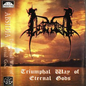 Absidia - Triumphal Way of Eternal Gods cover art