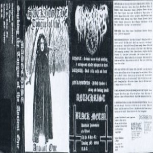 Masochist - Sucking the Tongue of the Ancient One cover art