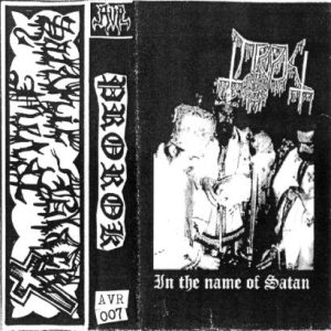 Prorok - In the Name of Satan cover art