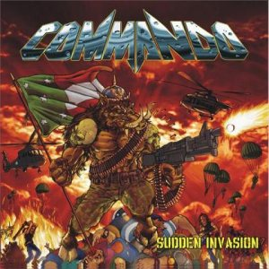 Commando - Sudden Invasion cover art