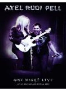 Axel Rudi Pell - One Night Live cover art