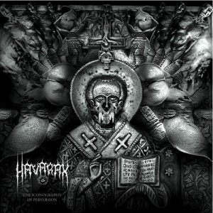 Havarax - The Iconography of Perversion cover art