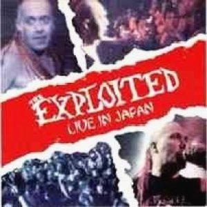 The Exploited - Live in Japan cover art