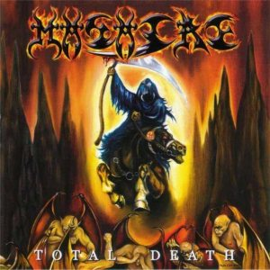 Masacre - Total Death cover art