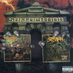 Suffocation - Effigy of the Forgotten / Pierced from Within cover art