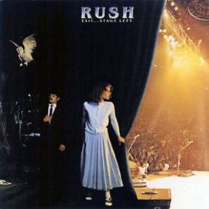 Rush - Exit...Stage Left cover art