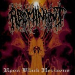 Abominant - Upon Black Horizons cover art