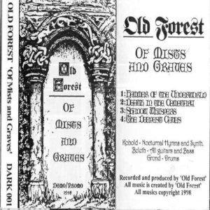 Old Forest - Of Mists and Graves cover art