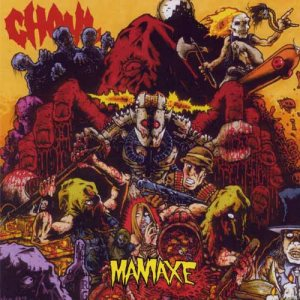 Ghoul - Maniaxe cover art
