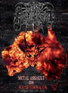 Nunslaughter - Metal Assault on Australia cover art