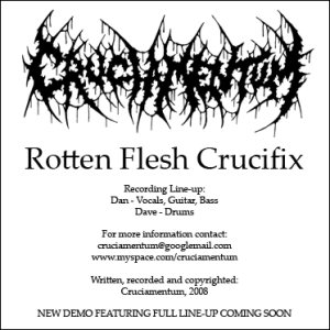Cruciamentum - Rotten Flesh Crucifix cover art