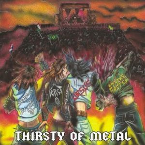Dominus Praelii / Strike Master / The Force / Ursus - Thirsty of Metal cover art