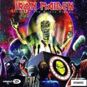Iron Maiden - Out of the Silent Planet cover art