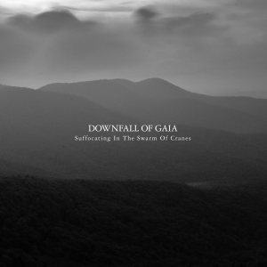 Downfall of Gaia - Suffocating in the Swarm of Cranes cover art