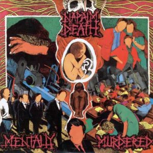 Napalm Death - Mentally Murdered cover art