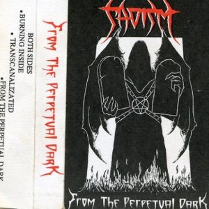 Sadism - From the Perpetual Dark cover art