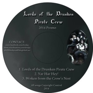 Lords of the Drunken Pirate Crew - 2014 Promo cover art