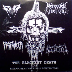 Beheaded Nasrani - The Blackest Death cover art
